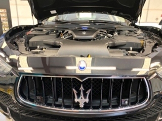 Maserati Ghibli Brake Repair  Maserati Ghibli Brake Repair. Maserati Ghibli Brake Service with new OEM pads and rotors.