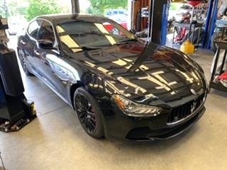 Maserati Ghibli Brake Repair